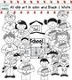 School Kids Clip Art In Cute Uniform Student Children Digi