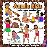 Kids Clip Art: Indigenous Australian Children Clipart