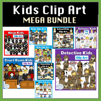 Kids Clip Art - MEGA Bundle