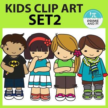 Kids Clipart Set 2