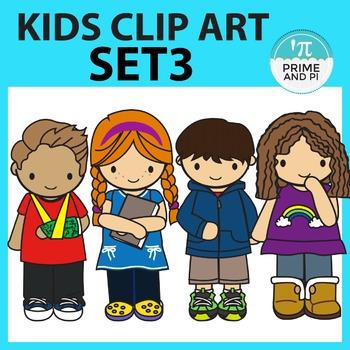 Kids ClipArt Set 3