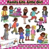 Kids Clip art, Little Girl