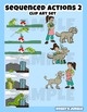 Kids Clip art: Sequenced actions 2