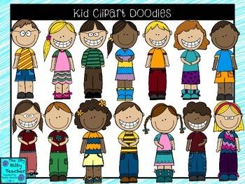 Kids Clipart Doodles