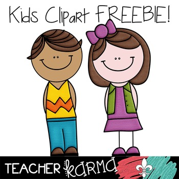 Kids Clipart  FREEBIE ~ Students ~ Commercial OK