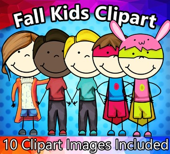 Fall / Autumn Kids Clipart
