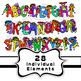 Kids Clipart Font Alphabet Letters