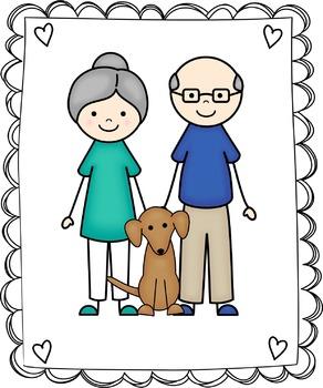 Kids Clipart - My Family Clip Art Set 1