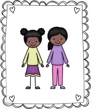 Kids Clipart - My Family Clip Art Set 2