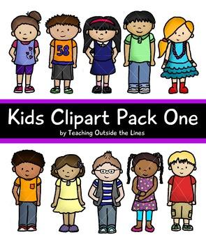 Kids Clip Art Pack One