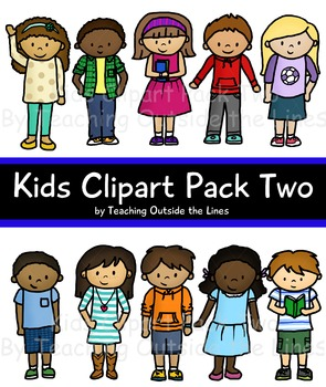 Kids Clip Art Pack Two