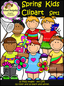 Kids Clipart : Spring Edition