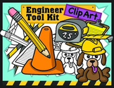 STEM Kids Clipart: Engineer Toolbox