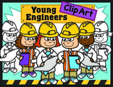 STEM Kids Clipart: Young Engineers