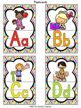 """""""Kids & Colors"""" Alphabet Posters"""