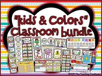"""""""Kids & Colors"""" Classroom Bundle"""