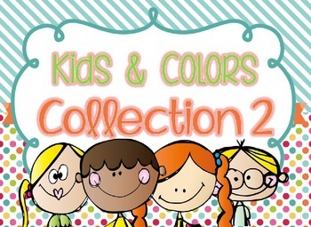 Kids & Colors Collection 2 - Editable