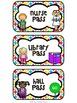 """Kids & Colors"" Hall Passes"