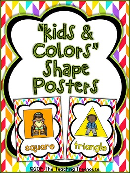 """Kids & Colors"" Shape Posters"