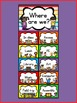 """""""Kids & Colors"""" Where Are We? Clip Chart"""