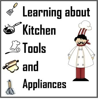Learning About Kitchen Tools And Appliances Worksheets Cooking