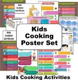 Kids Cooking Poster Set