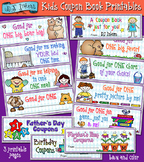 Kids Coupon Book Printable Download