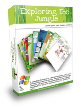 EYLF Exploring the Jungle Activities and editable Pages