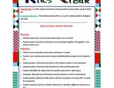 Kids Create Instant Math Center: k2 B ordinal positions