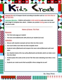 Kids Create Math Centers: K11A Duartion of time