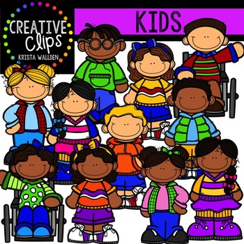 Kids {Creative Clips Digital Clipart}