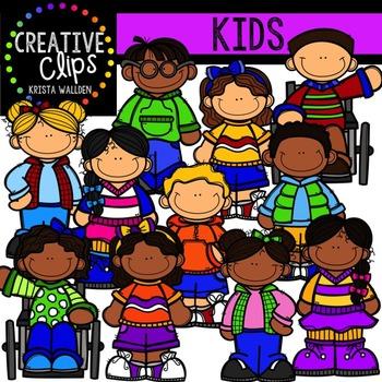Kids {Creative Clips Digital Clipart}