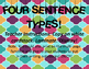 Jubilee's Junction - FOUR SENTENCE TYPES Poster Set