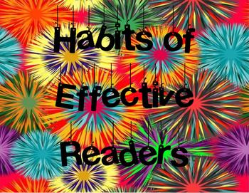 Jubilee's Junction - HABITS OF EFFECTIVE READERS POSTER SET