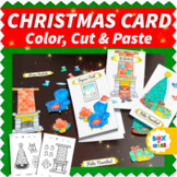 Kids DIY Christmas Card Illustrations Pack