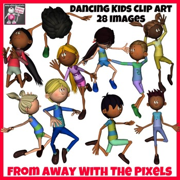 Kids Dance Clip Art - 28 Dancing Kids Clipart from Away With The Pixels