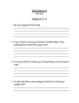 Kids Deserve It Book Study Ch. 10-12