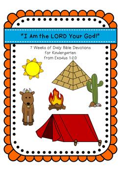 Kids Devotions on Exodus