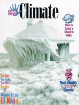 Kids Discover Climate Magazine worksheets