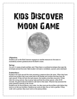 Kids Discover Moon Game
