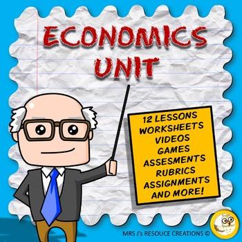 Economics Unit: Needs & Wants, Production, Consumption, Money, Environment