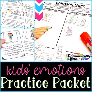 Feelings and Emotions Activities for Practice
