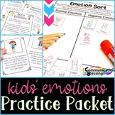 Kids Emotions: Practice Packet