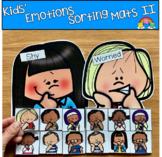 Kids' Emotions Sorting Activities Set 2