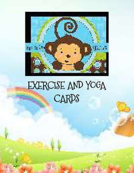 Kids' Exercise and Yoga Cards