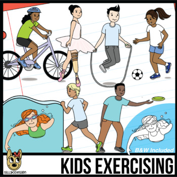 Exercise Clipart Worksheets Teaching Resources