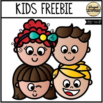 Kids FREEBIE (Clip Art for Personal & Commercial Use)
