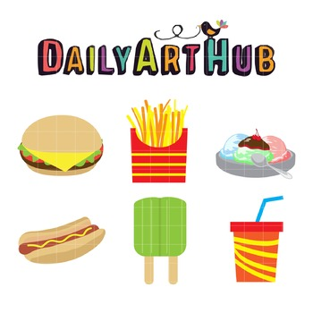 Kids Favorite Clip Art - Great for Art Class Projects!