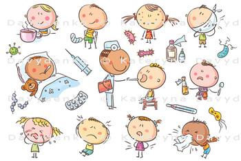 Kids Feeling Unwell