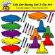 Kids Get Moving Set 2 Clip Art